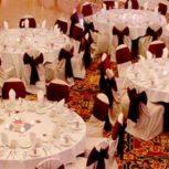 میز و صندلی سالن عروسی