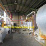 خط تولید بازیافت و پیرولیز تایر به ضایعات نفتی