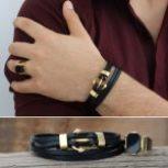 فروشگاه اینترنتی زیورالات دستبند گردنبند سنگی استیل چرم نقره