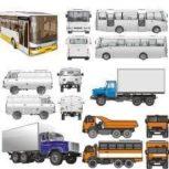 خرید انواع خودروهای سنگین اتوبوس مینی بوس ون