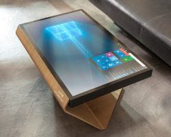میز مدیریت مدرن لمسی EPR